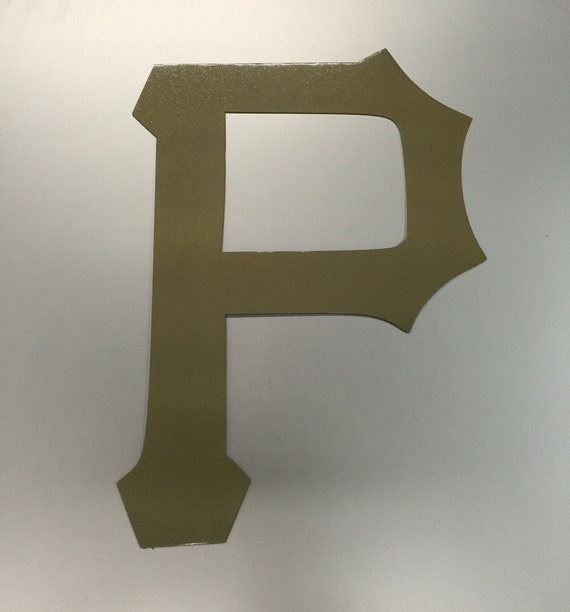 Pirates Baseball Metal Wall Art Decor Pittsburgh