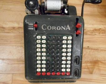 Vintage Smith Corona Adding Machine