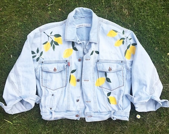 Lemon Denim Jacket