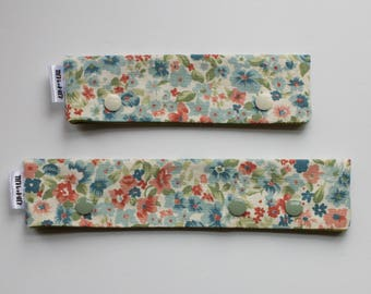 Floral Needle Case, dpn Holder, Knitting Tool, Needle Keeper, Knitting Needle Holder, Needle Holder, dpn Cozy, dpn Case,Sock Knitting Tool