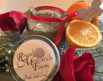 Calming Floral Bath Salt Soak