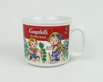 Campbell Soup Bowl - Vintage Soup Mugs