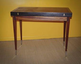 Table à jeu vintage