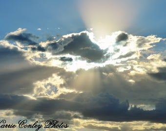 Rays of sun
