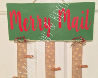 Christmas Card Hangers