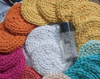 Reusable Makeup remover face cloths