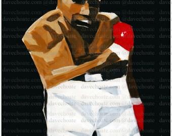 Muhammad Ali Art Photo Print