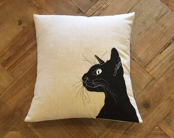 CUSCINO Gatto / BLACK Cat