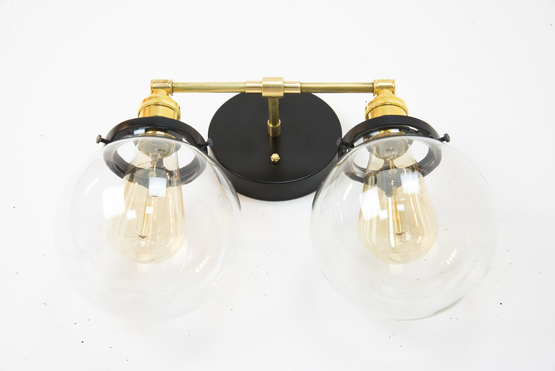 vanity modern brown fixtures for sconces bathrooms bathroom lights bath light wall lighting