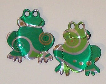 Frog Magnet - Ginger Ale Swirl Soda Can