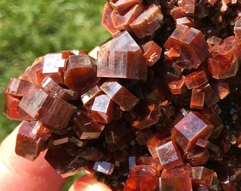 Vanadinite / GEMMY Beauty / HUGE Crystals / High QUALITY / Rocks and Minerals / Top Shelf / Morocco, 287g