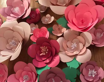 One 13inch paper flower!