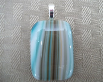 Stunning Fused Glass Pendant