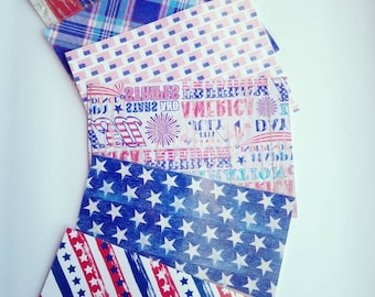 A5 planner dashboards/ dividers 4th of July.