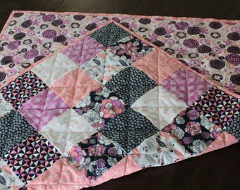 Baby Girl Quilt, Floral