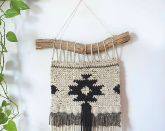 PDF Crochet Pattern for the Geometric Cozy Wall Hanging