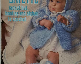 Snowflake Layette Crochet Instruction Leaflet