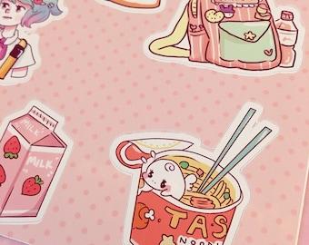 Sticker Sheet -少女 Shojo Life