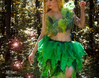 Fairy Pixie Adult skirt woodland nymph ren faire green costume absinthe fae faerie festival Dance -- You Choose Size -- SistersEnchanted  sc 1 st  Etsy & Ren faire costume | Etsy