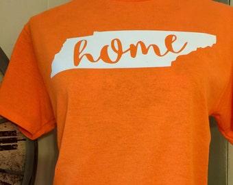 Tennessee Home Shirt - Tennessee Shirt - Tennessee Pride - Tn Shirt - UT - Short Sleeve Shirt - Home Shirt