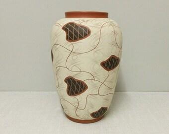 Large EIWA vase decor Hawai'i 30 cm 50/60s