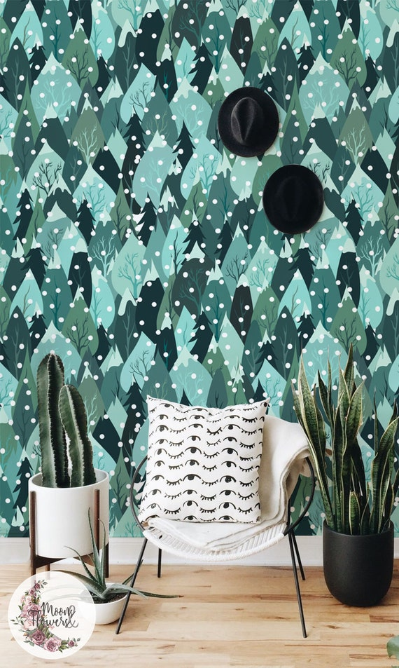 5 Modern Nursery Wallpaper Picks on Etsy | Little Residents