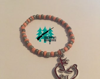 Buck and Doe Plus Babies Bracelet