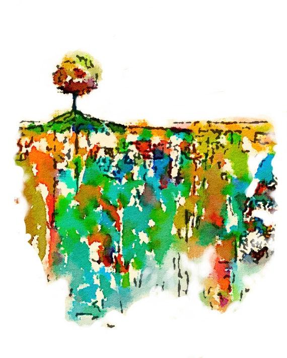 Tomoe River Insert - Tree 2 - Travelers Notebook Insert