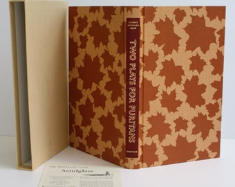 Two Plays For Puritans by George Bernard Shaw - The Heritage Press, Norwalk CT - 1979 - Vintage Book