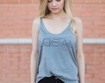 Women's local state shirt- customs to state