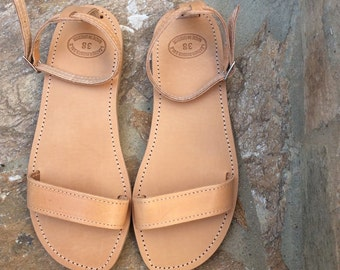 Greek sandals! Womens sandals! Flat Sandals, Leather Sandals, Flats, Real leather flats, Summer Flats