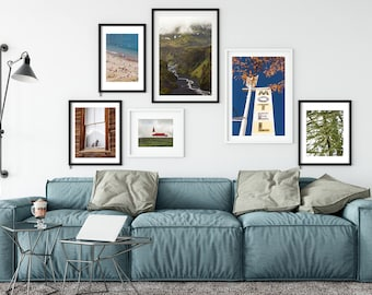 FRAME ANY PHOTO - mat included - framed photography - framed art - fine art photos - large art - ready to hang - wall art - oversize art
