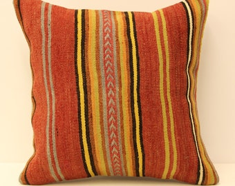 kilim pillow cover.18x18 Turkish handmade  decorative home design KB-21