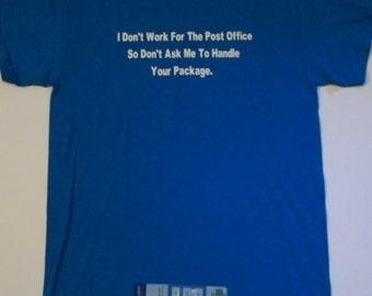 Post Office Novelty Custom NovelTee Shirts by vaporpodd.com