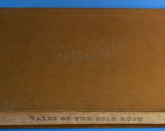 Tales of the Gold Rush, by Bret Harte, Illustrated by Fletcher Martin 1944 Heritage Press Edition w/ Sandglass insert and gold slipcase
