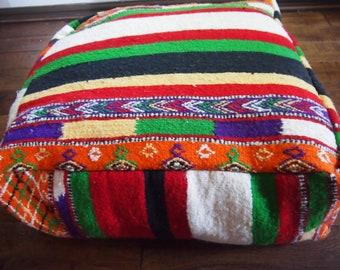 Vintage Moroccan Beni Mellal Floor Cushion #2