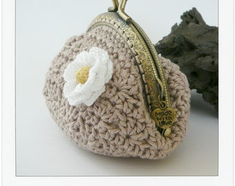 PATTERN Crochet Coin Purse {Model nº 5}