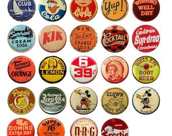 Vintage Soda Pop  Bottle Cap Kitchen Cabinet Drawer Knobs Pulls