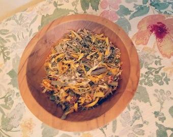 Soothing Throat Relief Herbal Tea Blend