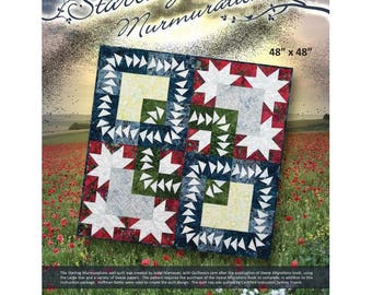 Starling Murmurations Quilt Pattern And Foundation Papers by Judy Niemeyer Quiltworx