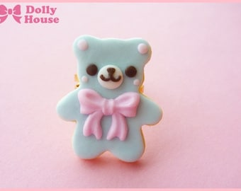 Cookie Bear Ring by Dolly House