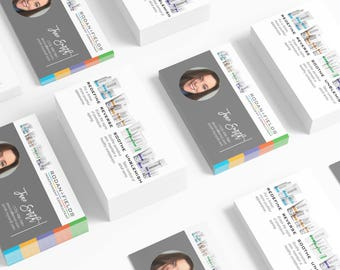 Rodan and Fields Business Cards Download - Photo + Product Feature Business Cards Personal Printable Custom Personalized