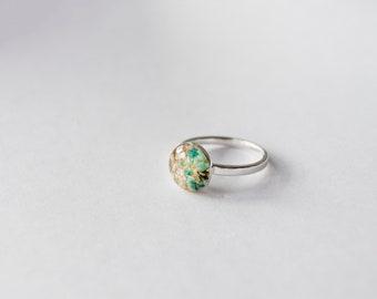 Sand & Surf Ring, Sterling