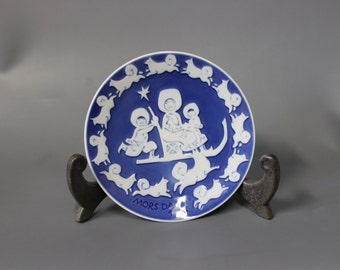 Mother's day plate, 1974 by Royal Copenhagen.