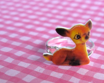 Vintage Fawn Ring