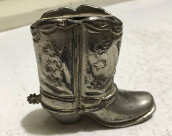 Vintage Boot Lighter Holder NO LIGHTER