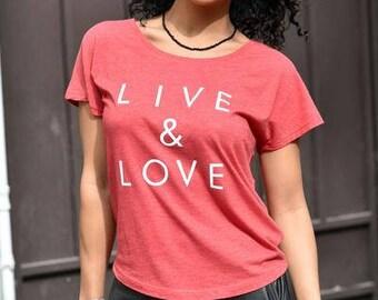 Live & Love Dolman