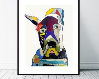 great dane dog .great dane dog portrait.colorful pop dog art.dog art prints.dog art decor.dog portraits.giclee fine art prints.