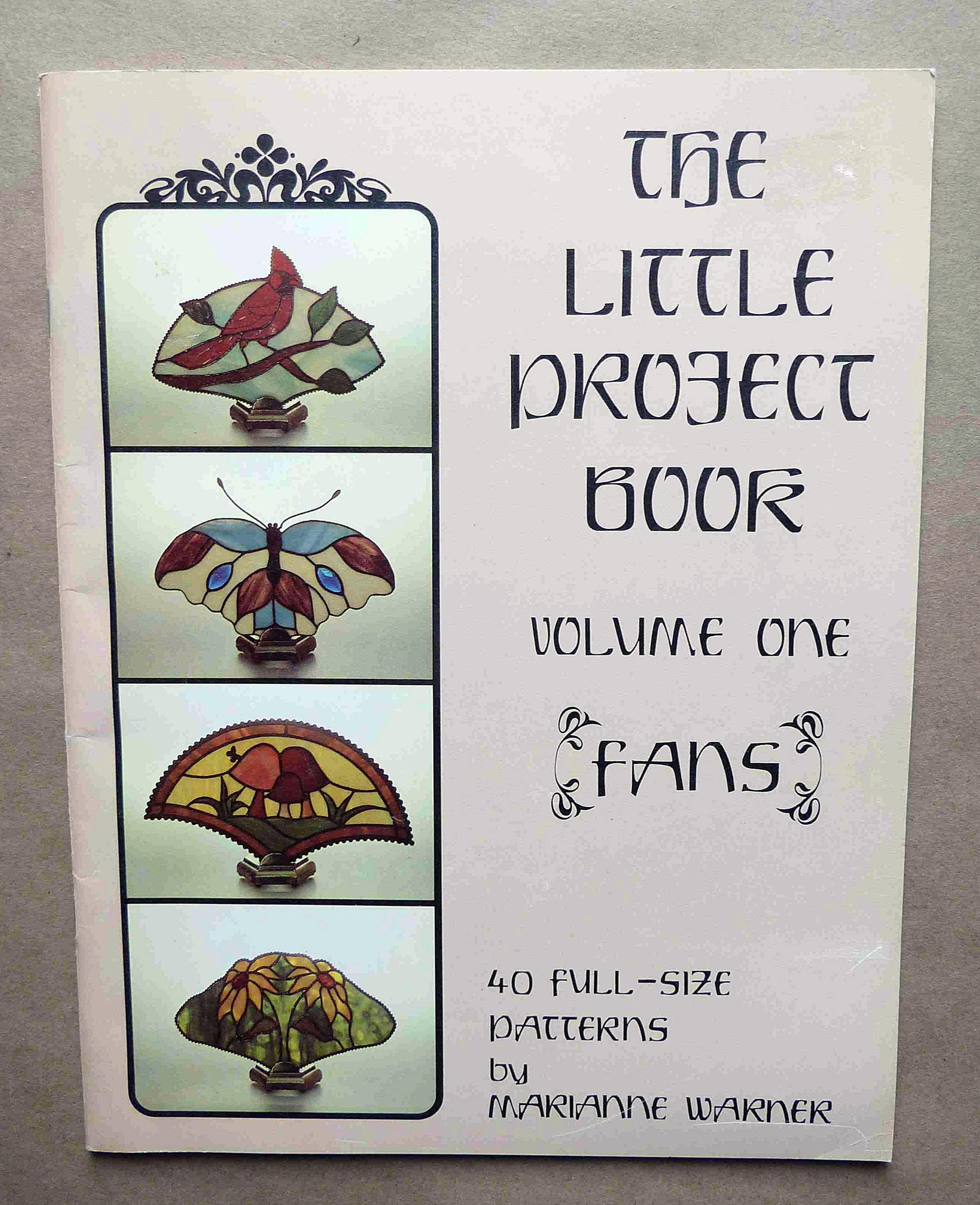 Stained Glass Patterns - The Little Project Book - Stained Glass Fan ...