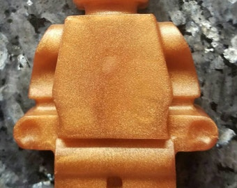 Robot Man Soap / Stocking Stuffer / Gift for Him / Gift for Her / Party Favor / Geeky Soap